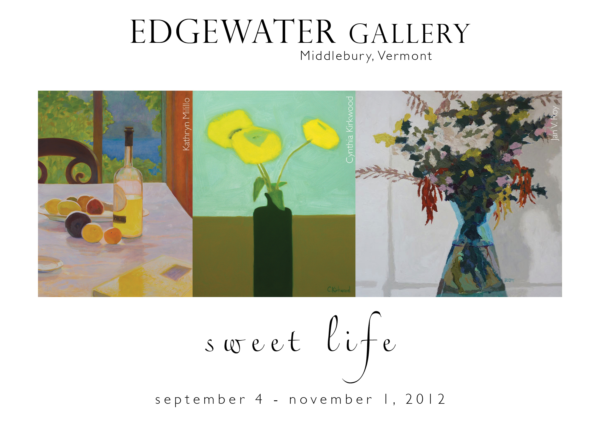 sweet life at edgewater gallery